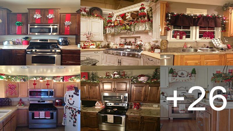 decoraciones navideñas para tu cocina