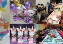 Manualidades de unicornio para fiestas de niñas
