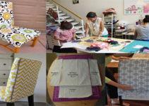 hacer forros de sillas con sus patrones