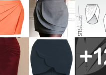 prende a como hacer faldas elegantes