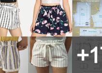 Aprende hacer shorts de mujer con patrones