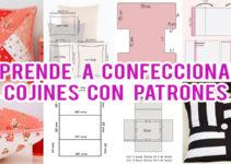 CONFECCIONAR COJINES CON SUS PATRONES