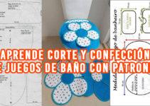 CORTE Y CONFECCIÓN DE JUEGOS DE BAÑO