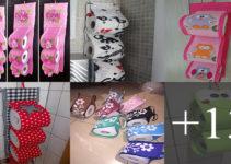 Aprende hacer porta papel de baño de tela